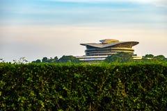 Современное здание в Путраджайя, Малайзии Стоковые Фотографии RF
