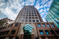Современное здание в Hartford, Коннектикуте стоковая фотография