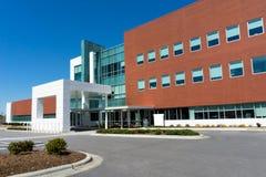 Современное здание медицинского центра Стоковое Фото