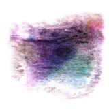 Современное искусство фиолетовое, задняя часть черного, голубого художника avant-предохранителя безшовная Стоковые Фотографии RF