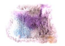 Современное искусство фиолетовое, задняя часть черного, голубого художника avant-предохранителя безшовная Стоковые Изображения