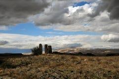 Современное каменное здание Место в Cappadocia стоковое фото rf