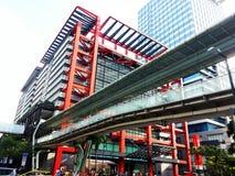 Современное коммерчески здание, корпоративное здание Стоковая Фотография RF