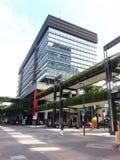 Современное коммерчески здание, корпоративное здание Стоковые Фото
