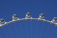 Современное колесо Ferris Стоковое фото RF
