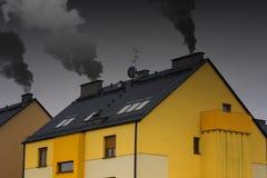 Современное не экологическое здание Стоковое Фото