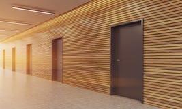 Современное лобби офисного здания Стоковое Фото