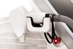 Современное оборудование косметологии для заботы кожи лазера Стоковое фото RF
