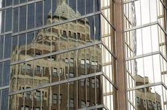 Современное отражение архитектуры Стоковое Изображение