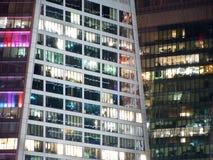 Современное офисное здание в Москве стоковое изображение