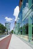 Современное офисное здание, Гаага, Нидерланды Стоковое Изображение RF