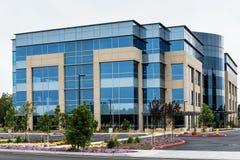 Современное офисное здание Стоковая Фотография RF