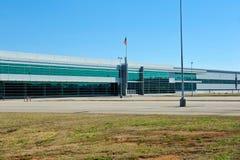 Современное промышленное здание Стоковое Изображение