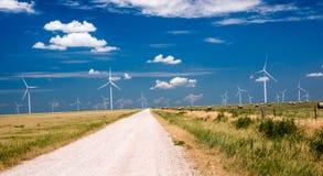 Современное сельское хозяйство Техаса Стоковое Фото