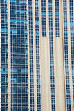Современное строя стеклянное голубое окно Стоковое Изображение RF