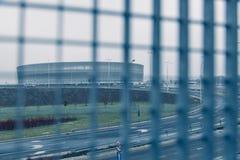 Современное architekture в Wroclaw Польше Стоковое Изображение RF