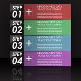 Современное infographic знамя варианта Стоковая Фотография