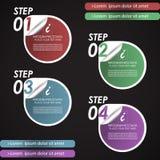 Современное infographic знамя варианта Стоковое Фото