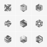 Современные абстрактные логотип вектора или дизайн элемента Самое лучшее для идентичности и логотипов Стоковые Фотографии RF