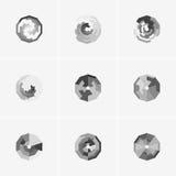 Современные абстрактные логотип вектора или дизайн элемента Самое лучшее для идентичности и логотипов Стоковые Изображения