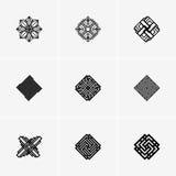 Современные абстрактные логотип вектора или дизайн элемента Самое лучшее для идентичности и логотипов Стоковая Фотография RF