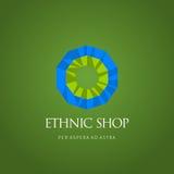 Современные абстрактные логотип вектора или дизайн элемента Самое лучшее для идентичности и логотипов Простая форма Стоковая Фотография