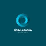 Современные абстрактные логотип вектора или дизайн элемента Самое лучшее для идентичности и логотипов Простая форма Стоковая Фотография RF
