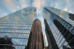 Современные башни офиса в городском Торонто Стоковое Фото