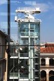 Современные башня, стекло и сталь здания Стоковые Фото