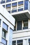 Современные бетон и стекло здания Стоковые Фото