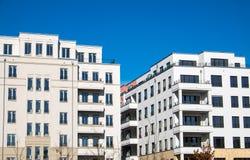 Современные блоки квартир в Берлине Стоковые Фото