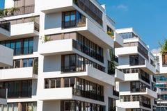 Современные блоки квартир в Берлине Стоковое фото RF
