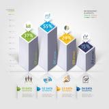 Современные варианты infographics 3d. Стоковые Изображения
