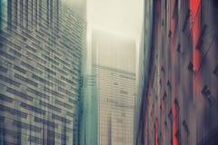 Современные высокотехнологичные здания Стоковые Изображения