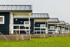 Современные деревянные загородные дома Стоковое Фото