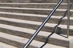 Современные лестницы цемента Стоковое Изображение RF