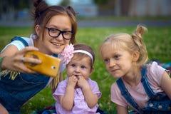 Современные дети Стоковая Фотография