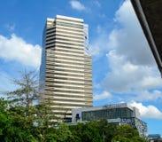 Современные здания в Бангкоке, Таиланде Стоковая Фотография