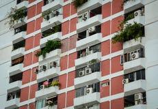 Современные здания в Бангкоке, Таиланде Стоковое Фото