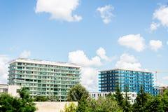 Современные здания в пасмурном дне Стоковая Фотография RF