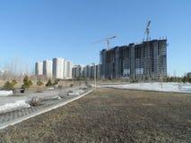 Современные здания - жилой квартал Стоковые Фото