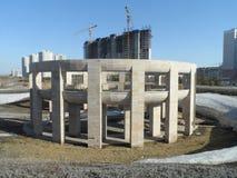 Современные здания - жилой квартал Стоковые Изображения RF