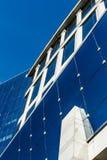 Современные здания на предпосылке голубого неба Стоковые Изображения RF