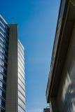 Современные здания на предпосылке голубого неба Стоковая Фотография