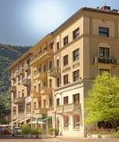 Современные итальянские квартиры в Como, Ломбардии, Италии Стоковая Фотография