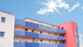 Современные квартиры в Европе Стоковая Фотография