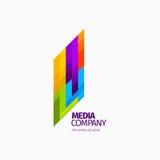 Современные красочные абстрактные логотип вектора или дизайн элемента Самое лучшее для идентичности и логотипов Стоковые Фото
