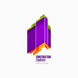 Современные красочные абстрактные логотип вектора или дизайн элемента Самое лучшее для идентичности и логотипов Стоковое Фото