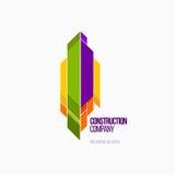 Современные красочные абстрактные логотип вектора или дизайн элемента Самое лучшее для идентичности и логотипов Стоковые Изображения RF