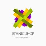 Современные красочные абстрактные логотип вектора или дизайн элемента Самое лучшее для идентичности и логотипов Стоковая Фотография RF